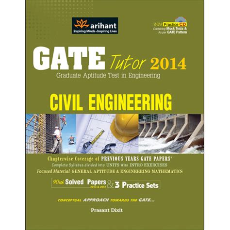 Arihant Books For Mba Entrance by Buy Gate Tutor 2014 Civil Engineering At Best