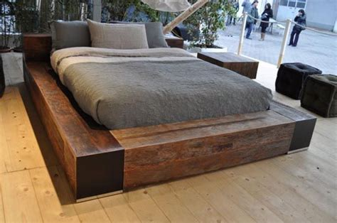 driftwood bed driftwood bed frame lo rider bed for the home pinterest low beds furniture and