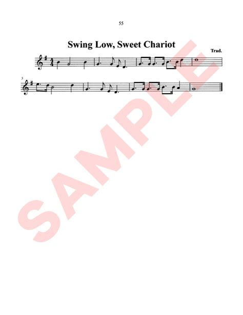 swing low sweet chariot spiritual spirituals sheet music the yankee collection