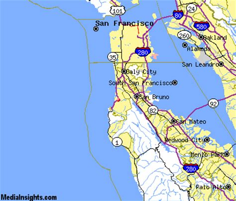 pacifica california map pacifica vacation rentals hotels weather map and