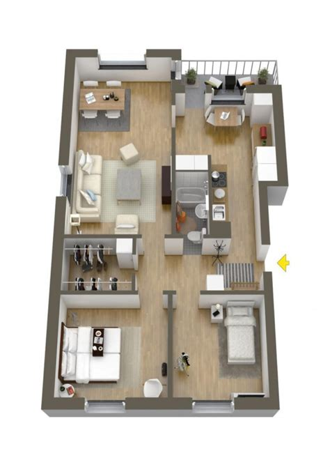 layout of two bedroom house 40 more 2 bedroom home floor plans