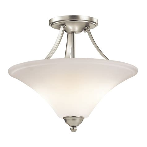 kichler lighting 43512 keiran semi flush mount ceiling