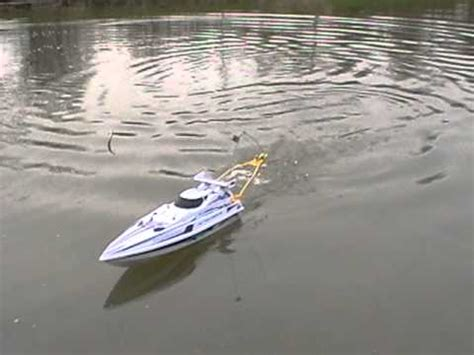 rc boats for fishing the rc fishing boat the radio ranger youtube