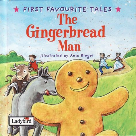 printable book of the gingerbread man the gingerbread man ladybird book first favourite tales