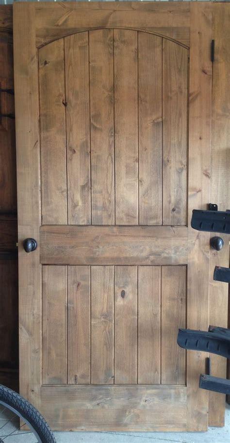 rustic interior knotty alder door wood doors interior