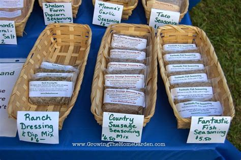 How To Sell Handmade Products - growing for a farmers market part 2 growing the home garden