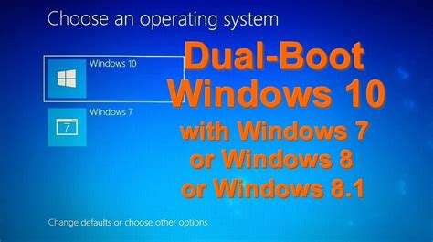 install windows 10 dual boot ultimate guide dual boot windows 10 along with windows 7