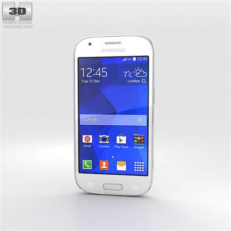 Samsung Ace 3 Okeshop samsung galaxy ace style lte white 3d model hum3d
