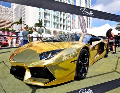 Gold Plated Lamborghini Aventador Price Best Car A Lot Of Supercars Landed To Special Of Speed
