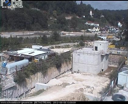 Auto Staiger Schw Bisch Gm Nd by Schw 228 Bisch Gm 252 Nd B29 Tunnelbaustelle I Webcams Travel