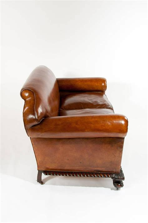 victorian leather couch magnificent victorian leather sofa and chairs three piece