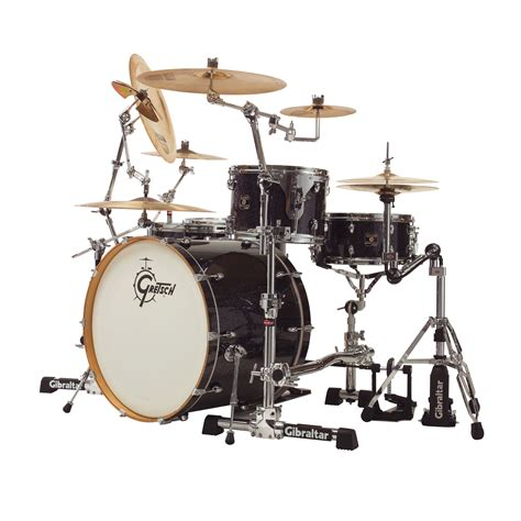 Jual Rack Drum Gibraltar gibraltar stealth vms with single tom mount ua snare basket gsvms kit