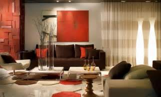 living decor ideas chocolate sofa room decorating ideas