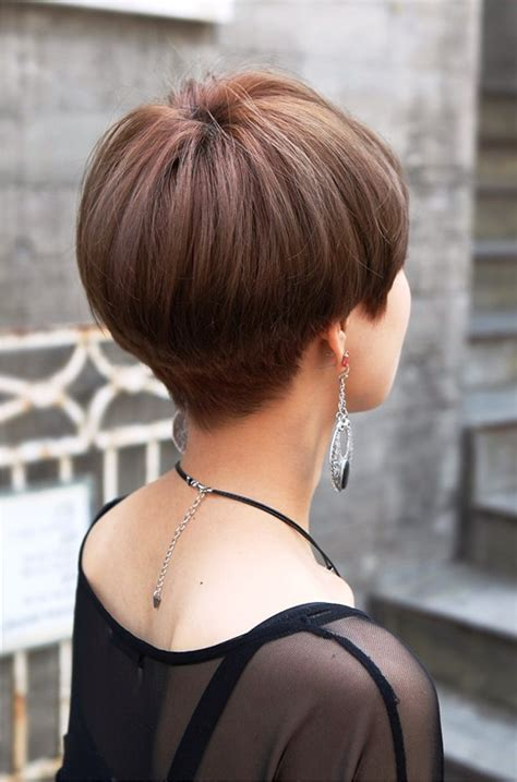 Short Hairstyles Front And Back Pictures   Hairstyle
