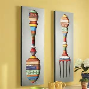 fork and spoon wall d 233 cor from ginny s 174 46957