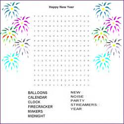 new year word search printable 7 best images of new year s word searches printable free