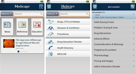 medscape for android medscape application for android