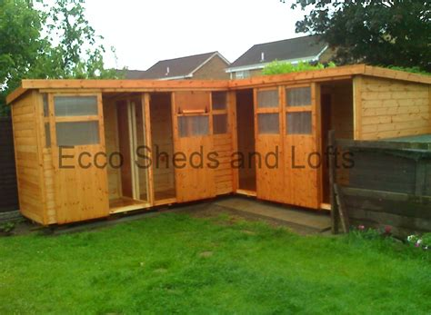 l for sale l shape lofts ecco sheds and pigeon lofts