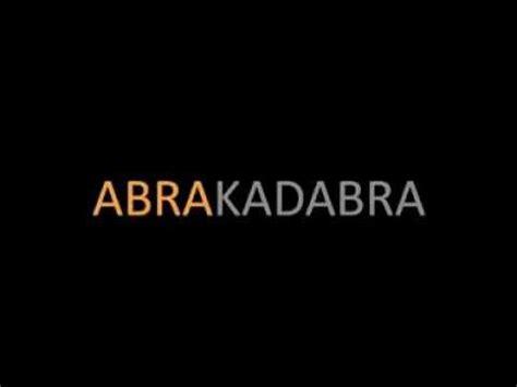 lyrics abra abrakadabra abra w lyrics