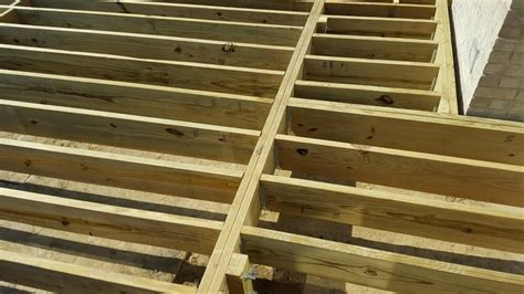 Patio Joist Outdoor Living How To Build A Low To The Ground Deck