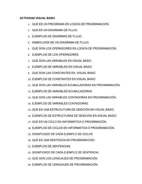 Actividad Visual Basic 9 176 A David Alejandro Pabon Mir By David Alejandro Pabon Mir Issuu Educational Grant Writing Template