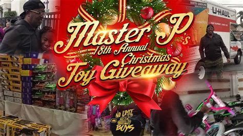 Christmas Toy Giveaway 2017 - master p 18th annual toy giveaway christmas event trutanksoldiers