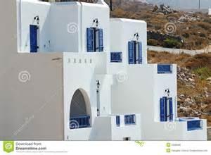 maison grecque images libres de droits image 5426599