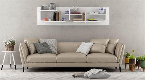 mensola a parete mensola sopra divano a parete design moderno filip