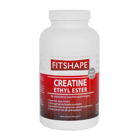creatine r fitness fitshape creatine ethyl ester 360 caps fitness geest