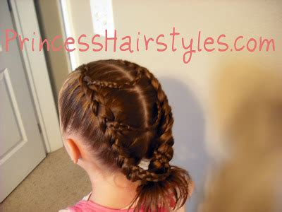 how to do princess hairstyles fancy princess braids hairstyles for girls princess