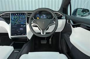 Tesla Suv Interior by Tesla Model X Review 2017 Autocar