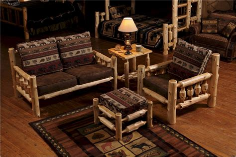 log living room furniture cedar log living room furniture package free shipping