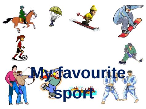 Sport Is My my favourite sport quot