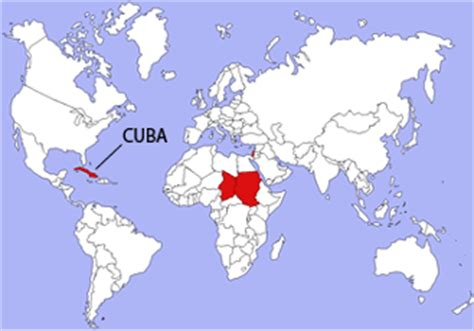 cuba on map of world locales template