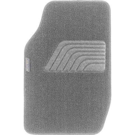 goodyear 4pc premium carpet floor mats gray walmart