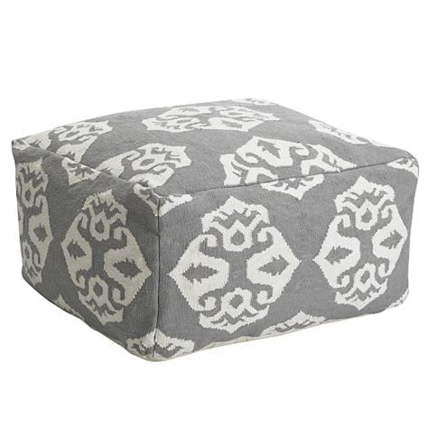 Andalusia Rug by Andalusia Dhurrie Pouf West Elm