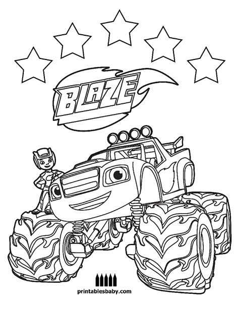 blaze coloring pages nick jr blaze and the monster machines nick jr coloring pages