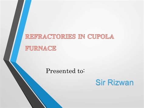 Cupola Furnace Charge Calculations by Refractories In Cupola Furnace