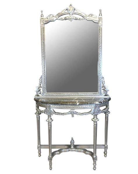 console shop consolle con specchio barocco luigi xvi poltrone