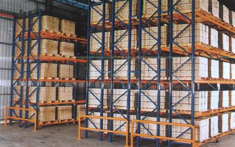 3d storage double deep racking racking system