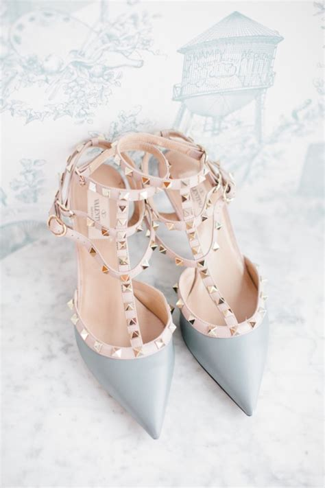valentinos schuhe hochzeit wedding obsession valentino rock stud wedding shoes