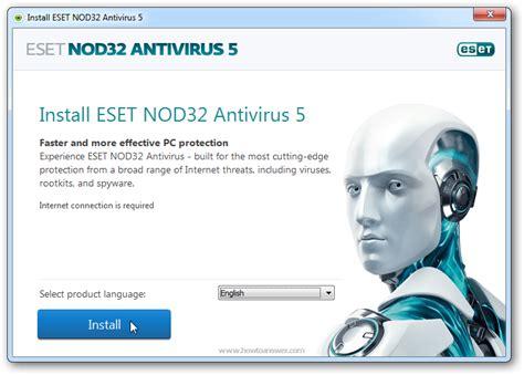 update eset nod32 antivirus 5 free download full version update virus signature database activation completed