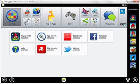 bluestacks register amd launches android app store for windows pcs the register