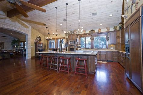 country house plans with large kitchens texas hill luxury texas hill country kitchen dream home pinterest