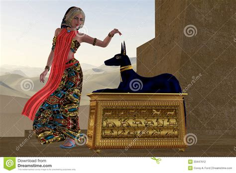 imagenes egipcias anubis mujer y estatua egipcias de anubis