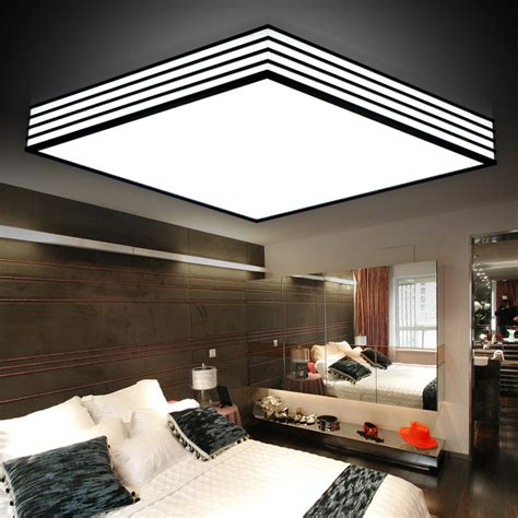 living room led ceiling lights led modern minimalist acrylic ceiling light black and