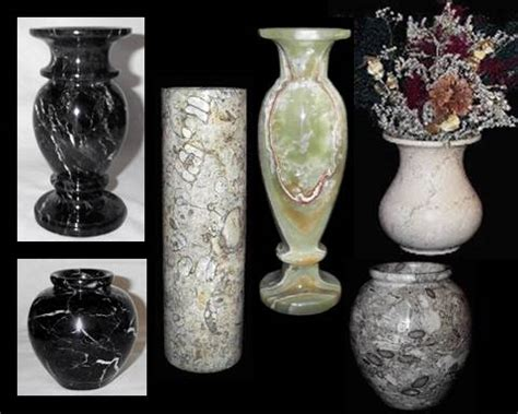 Black Stones For Vases by Marble Vases Vases Marble Planters Onyx