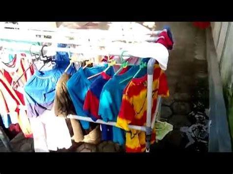 membuat jemuran paralon membuat rak display baju doovi