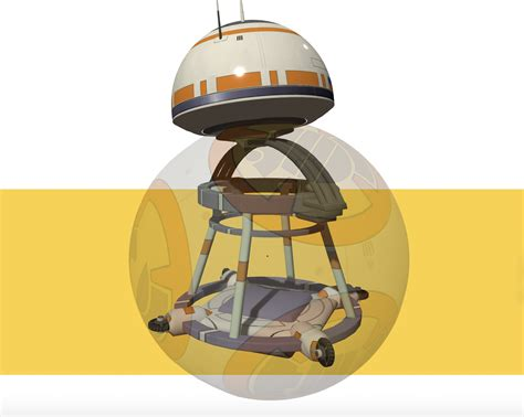 membuat robot bb 8 bb 8 from star wars the force awakens probably works