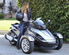 keibler goes hell for leather on three wheeled